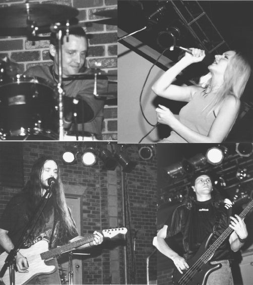 The members of unsaid are looking cool.